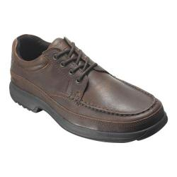 Men's Rockport Banni Dark Tan Full Grain Leather