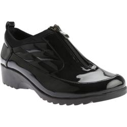 Women's Beacon Shoes Raindrop Shoe Bootie Black Patent Polyurethane