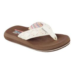 Women's Skechers Asana Thong Sandal Natural