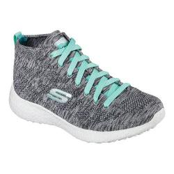 Women's Skechers Burst Divergent High Top Gray