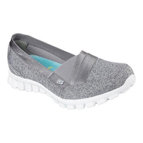 Shop Skechers EZ Flex 2 Fascination Womens Slip On Sneakers