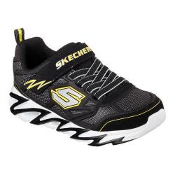 Boys' Skechers Fast Volt Anvil Sneaker Black/Yellow