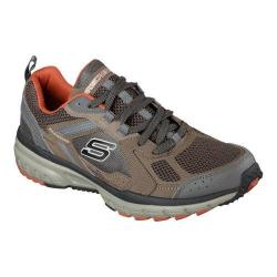 Men's Skechers Geo-Trek Pro Force Lace Up Brown/Orange