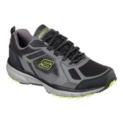 Men's Skechers Geo-Trek Pro Force Lace Up Charcoal/Lime