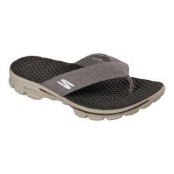 Men's Skechers GOwalk 3 Drift Sandal Khaki