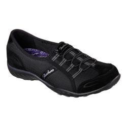 Women's Skechers Relaxed Fit Breathe Easy Allure Bungee Lace Shoe Black