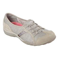 Women's Skechers Relaxed Fit Breathe Easy Pretty Lady Slip On Taupe
