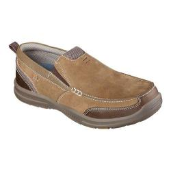 Men's Skechers Relaxed Fit Elected Brano Loafer Brown