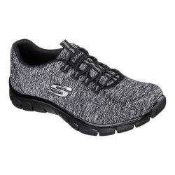 Women's Skechers Relaxed Fit Empire Heart To Heart Bungee Lace Shoe Black