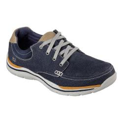 Men's Skechers Relaxed Fit Expected Orman Oxford Navy