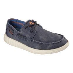 Status Melec Boat Shoe Navy