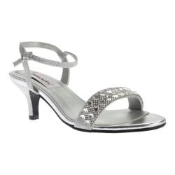 Women's Dyeables Sage Ankle Strap Sandal Silver Shimmer