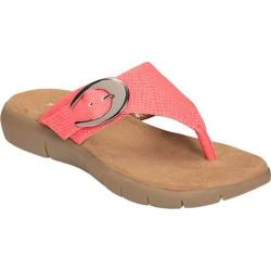 Women's A2 by Aerosoles Wipline Thong Sandal Coral Snake Faux Leather