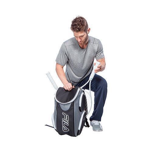 Shop Women S Fila Tennis Backpack Black Grey Free