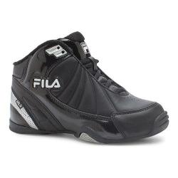 Children's Fila DLS Slam 3SB052XX Black/White/Metallic Silver