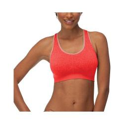 Women's Fila Running with Roses Seamless Bra Fiery Coral Jacquard
