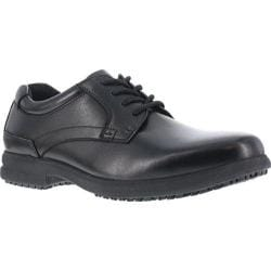 Men's Florsheim Work F2100 Traction Master EH Slip-Resistant Oxford Black