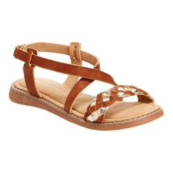 Girls' Hanna Andersson Helga Slingback Brown PU Leather