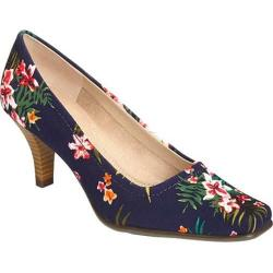 Women's Aerosoles Envy Blue Floral Printed Fabric