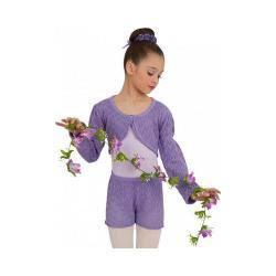Girls' Capezio Dance Lace Short Wisteria|https://ak1.ostkcdn.com/images/products/97/748/P18081955.jpg?impolicy=medium