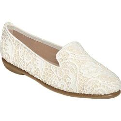 Women's Aerosoles Betunia White Combo Fabric