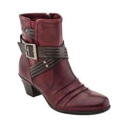 Women's Earth Odyssey Ankle Boot Bordeaux Calf Leather