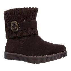 Women's Skechers Adorbs Sweater Boot Chocolate