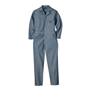Men's Dickies Cotton Coverall Fisher Stripe Fisher Stripe