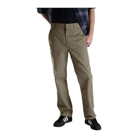 Men's Dickies Regular Fit Multi-Use Pocket Work Pant 32in Inseam Khaki