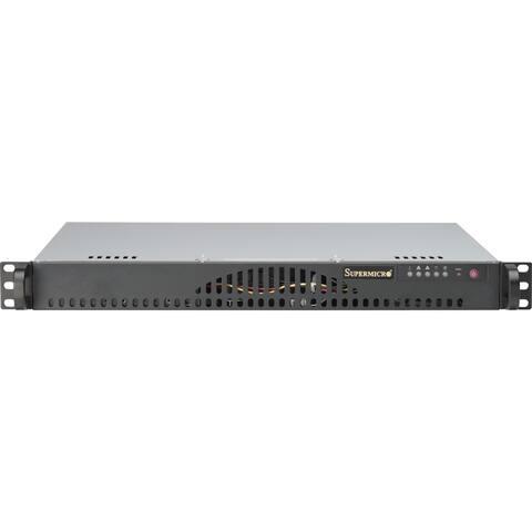 Supermicro SuperServer 5018A-MLTN4 1U Rack Server - 1 x Atom C2550 - Serial ATA/600 Controller
