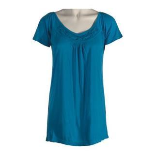 Women's Ojai Clothing Travel Ethnic Top Nile Blue