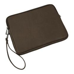 Piel Leather Chocolate iPad Sleeve