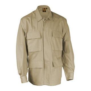 Men's Propper BDU 4-Pocket Coat 60C/40P Khaki