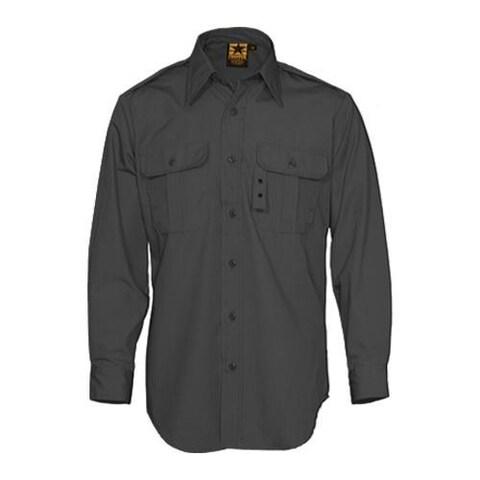 Men's Propper Tactical Dress Shirt Long Sleeve 65P/35C Black
