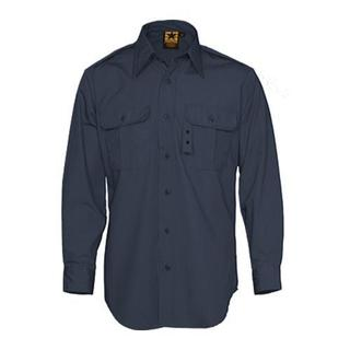 Men's Propper Tactical Dress Shirt Long Sleeve 65P/35C Dark Navy