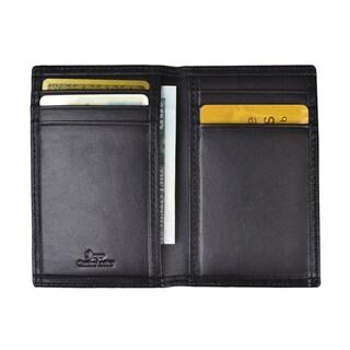 Royce Leather Hanover RFID Blocking Card Case 422-5 Black