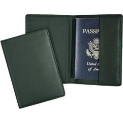 Royce Leather Plain Passport Jacket 200-5 Green Leather