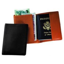 Royce Leather Plain Passport Jacket 200-5 Tan Leather