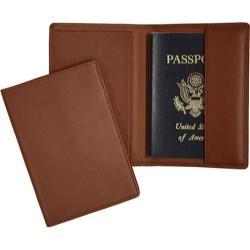 Royce Leather RFID Blocking Passport Jacket 200-5 Tan