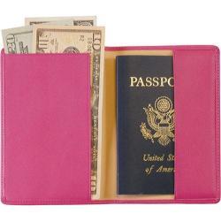 Royce Leather RFID Blocking Passport Jacket 200-5 Wildberry