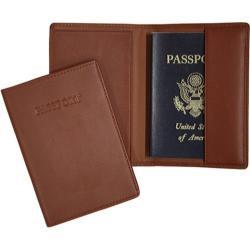 Royce Leather RFID Blocking Passport Jacket 203-5 Tan