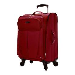 Skyway Luggage Mirage Superlight 20in 4-Wheel Carry On Formula 1 Red