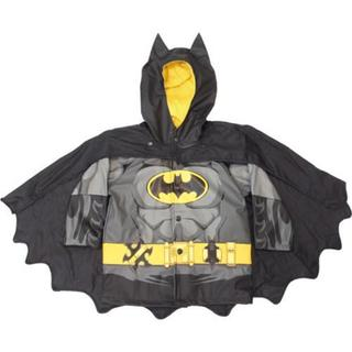 Boys' Western Chief Batman Caped Crusader Raincoat Black