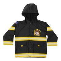 Boys' Western Chief F.D.U.S.A. Firechief Raincoat Black
