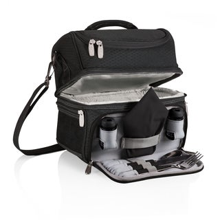 Picnic Time Pranzo Personal Cooler Black/Grey/Silver