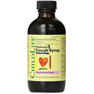 ChildLife Formula 3 Natural Berry Flavor 4-ounce Cough Syrup