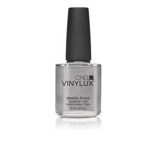 CND Vinylux Silver Chrome Nail Polish