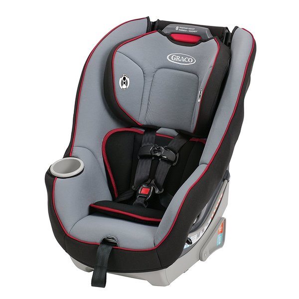 Graco Contender 65 Glacier Plastic Metal Convertible Car Seat