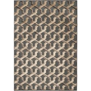 Safavieh Paradise Soft Anthracite Viscose Rug (5'3 x 7'6)