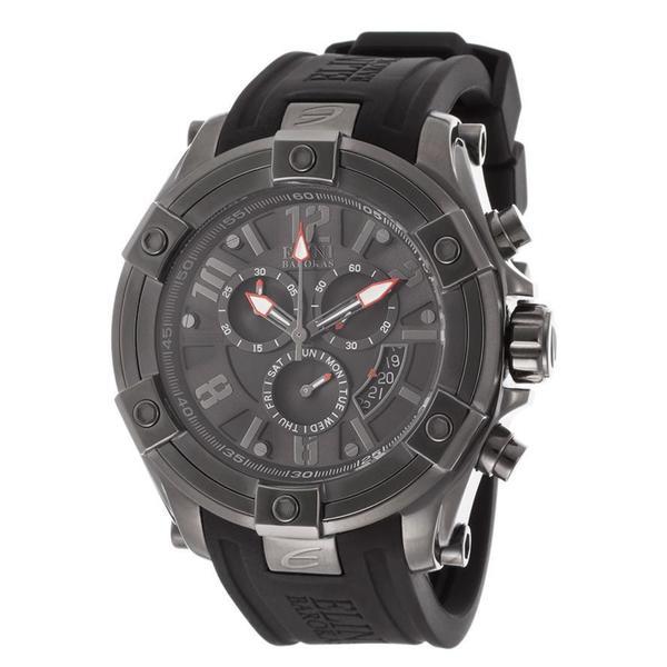 fe248674a Shop Elini Barokas Men's Gladiator Black Watch - Free Shipping Today -  Overstock - 9720071